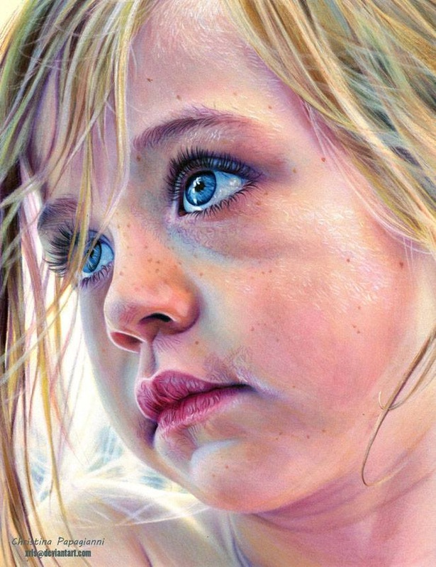 Creates Incredible Realistic Colored Pencil Drawings That Resemble